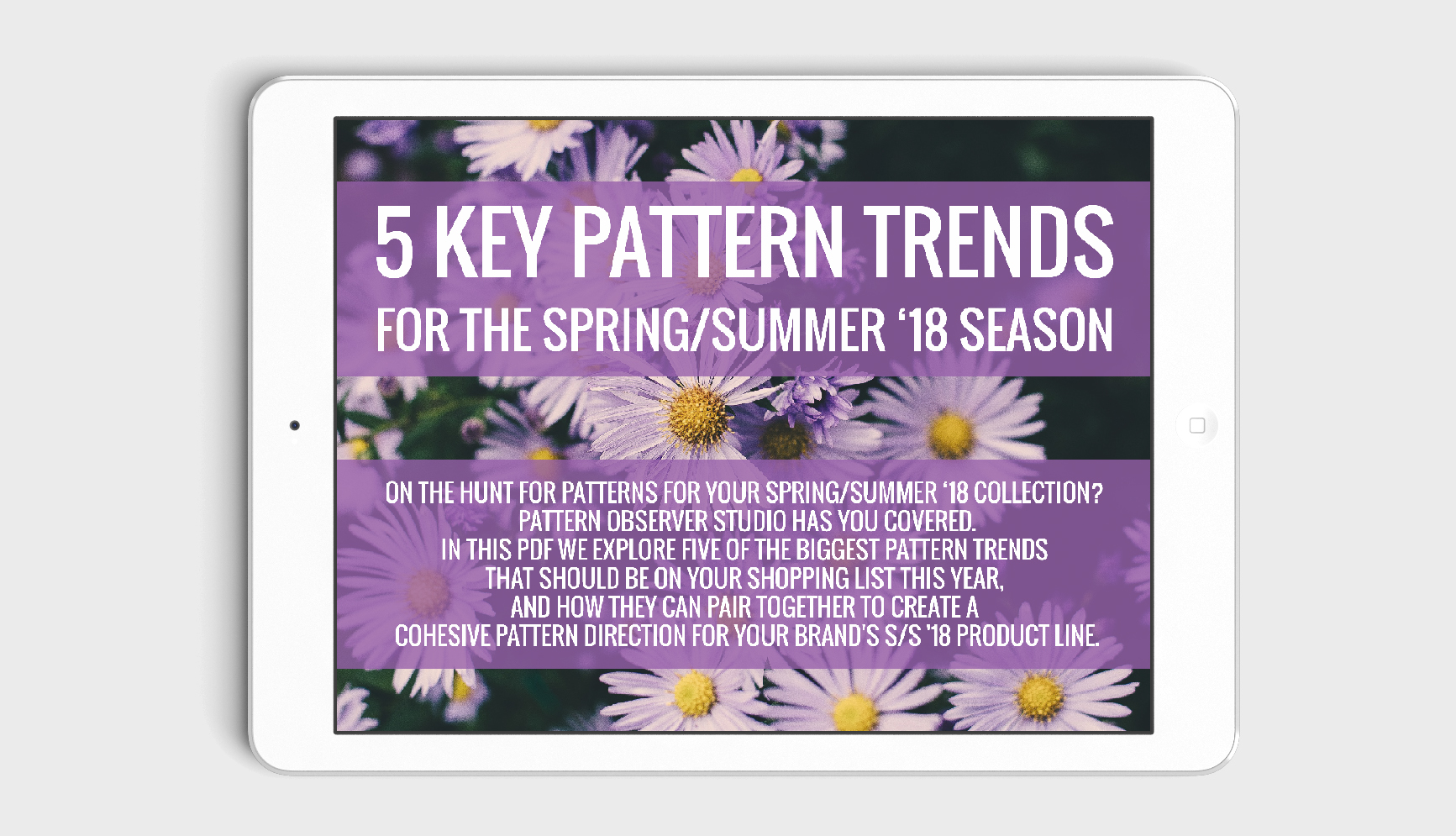 5 Key Pattern Trends for the Spring/Summer '18 Season